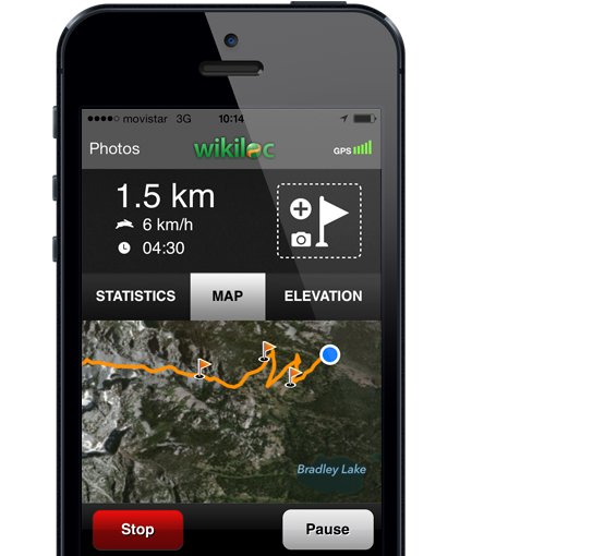 Track your outdoor adventures with GPS