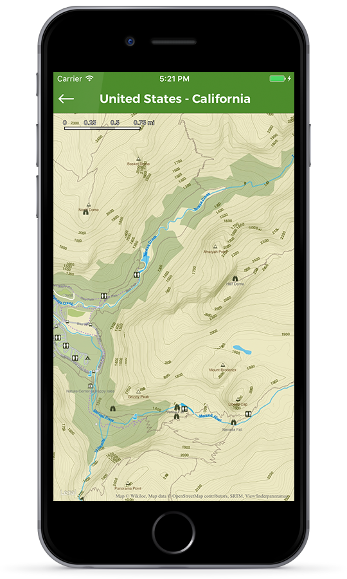 Free offline maps for your outdoor adventures